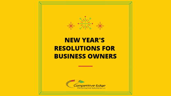 new year's resolutions for business competitive edge