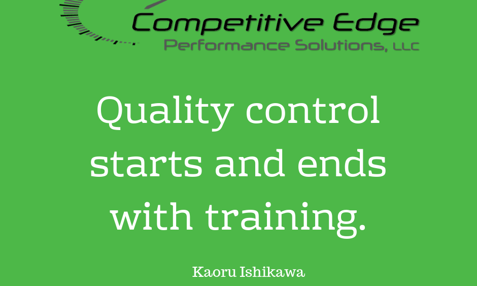 what is quality control competitive edge performance solutions